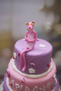 τούρτα ροζ πάνθηρας