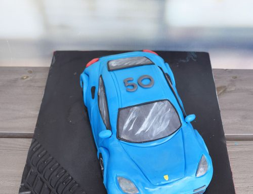 Τούρτα – αυτοκίνητο