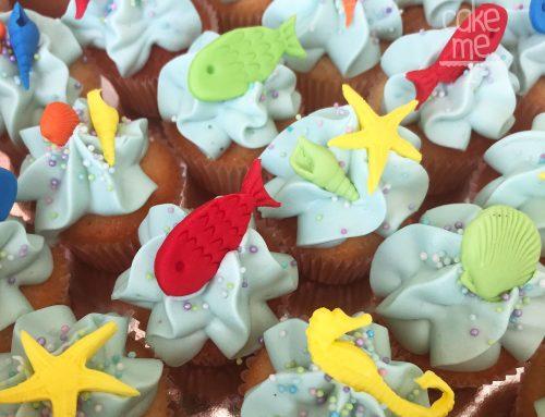Cupcakes θαλασσινά