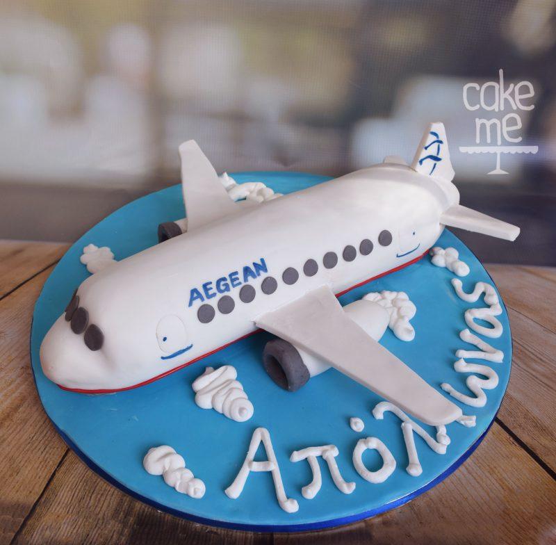 Τούρτα Aegean airlines