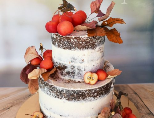 Naked φθινοπωρινή τούρτα