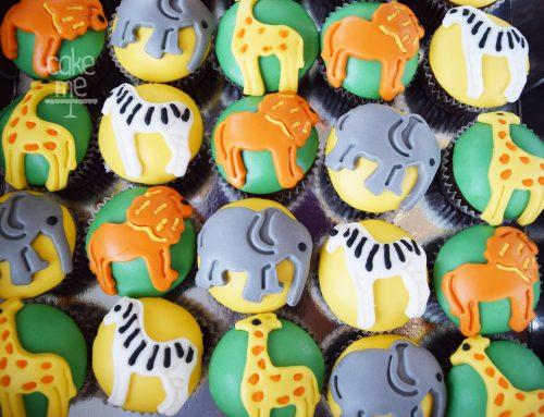 Cupcakes ζούγκλα
