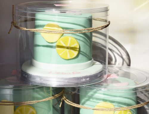 Mini cakes λεμόνι