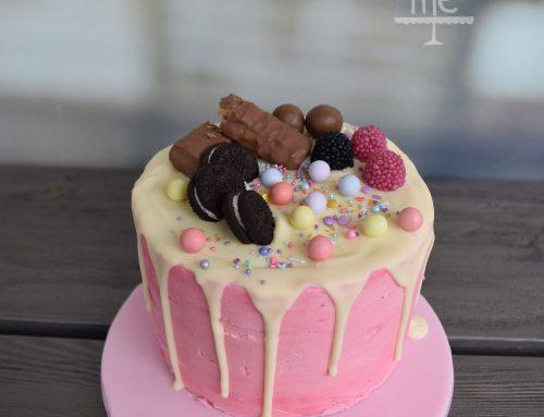 Drip Cake φράουλα